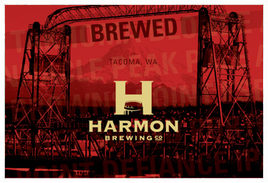 Harmon Brewery from Tacoma